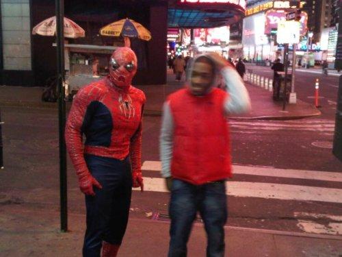 Spidermans got a new sidekick